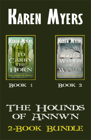 Hounds of Annwn Bundle - 1-2 - Full Front Cover 297x459