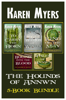 Hounds of Annwn Bundle - 1-5 - Full Front Cover - Widget