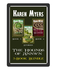 Hounds of Annwn Bundle - 3-5 - EBook Cover - 200x250