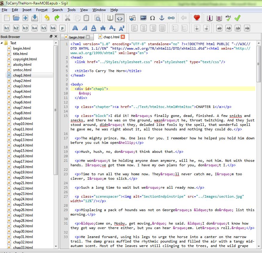 Sigil-HTMLText