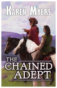 The Chained Adept - Full Front Cover - Widget
