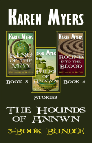Hounds of Annwn Bundle - 3-5 - Full Front Cover - 297x459