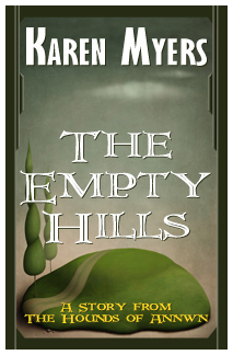 The Empty Hills - Full Front Cover - Widget