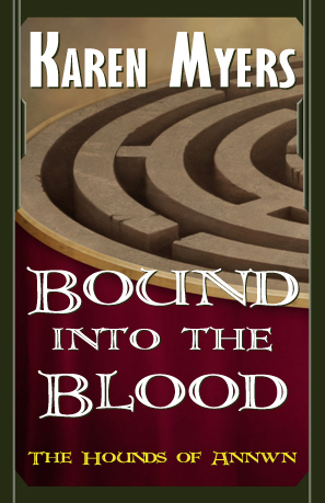 Bound into the Blood - Full Front Cover - 297x459