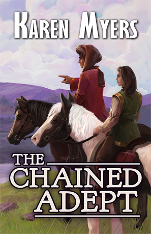 The Chained Adept - Full Front Cover - 297x459